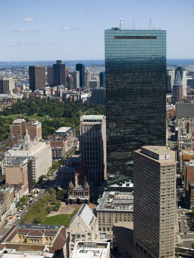 Cuadrado de Copley, Boston foto de archivo libre de regalías