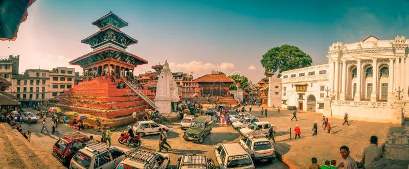 Cuadrado de Durbar en Nepal foto de archivo