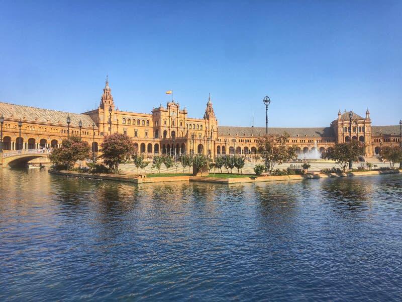 Cuadrado de España fotos de archivo libres de regalías
