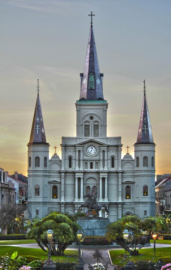 Cuadrado de Jackson, New Orleans, La fotografía de archivo libre de regalías