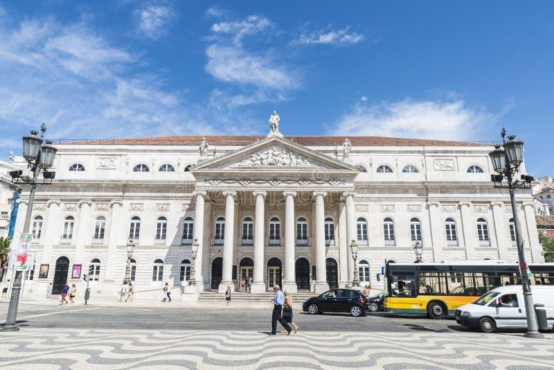 Download Cuadrado De Pedro IV, Lisboa Fotografía editorial - Imagen de mosaico, día: 44855922