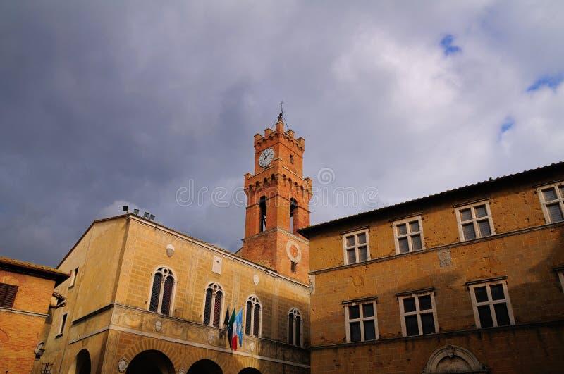 Download Cuadrado de Pienza Toscana imagen de archivo. Imagen de turístico - 7279963