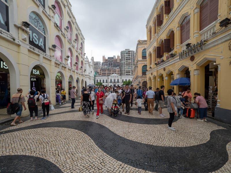 Cuadrado de Senado, Macau fotos de archivo libres de regalías