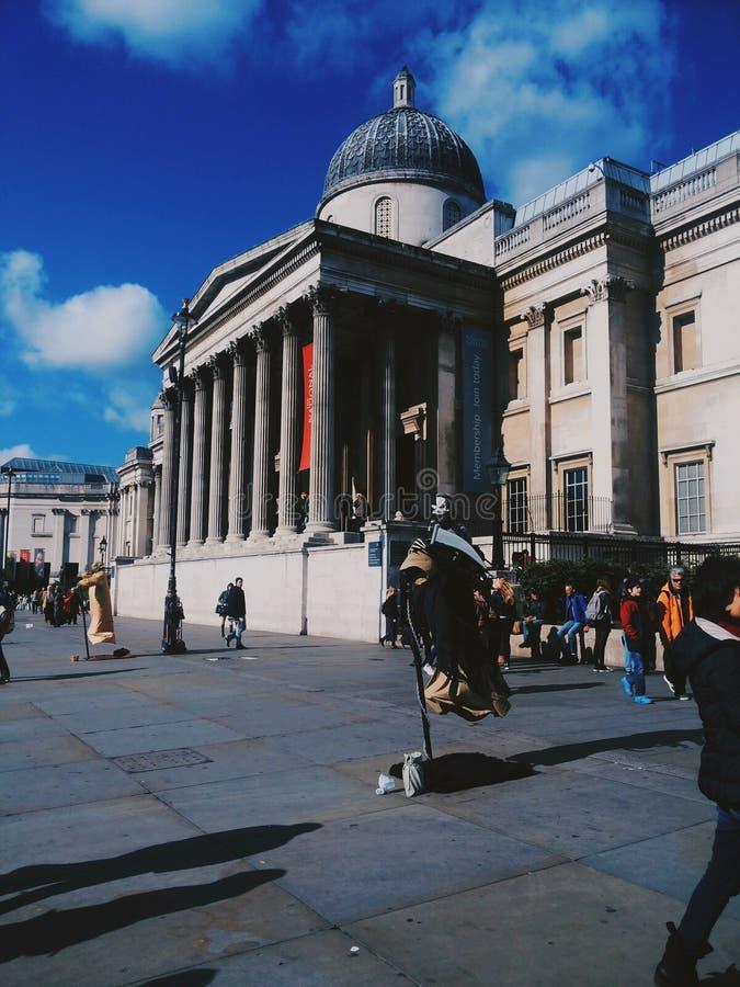 Cuadrado de Trafalgar foto de archivo libre de regalías