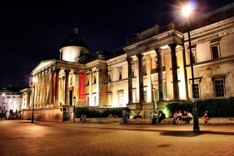 Cuadrado de Trafalgar imagen de archivo libre de regalías
