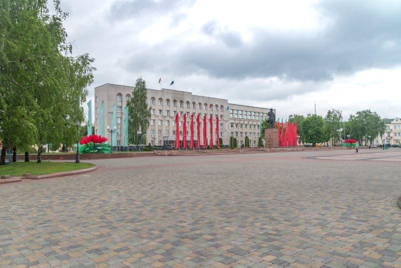 Cuadrado de Vladimir Ilyich Lenin Vladimir Ilyich Lenin era un revolucionario ruso, político, y un teórico político foto de archivo