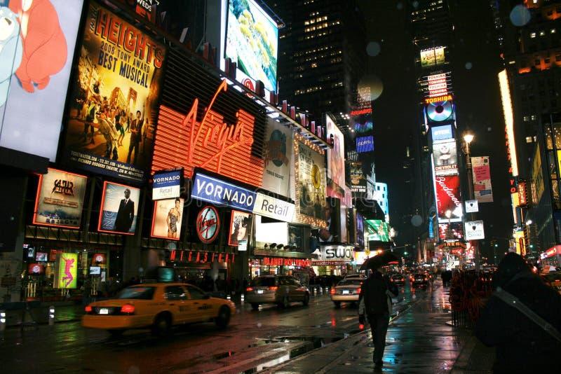 Cuadrado del tiempo de Nueva York imagenes de archivo