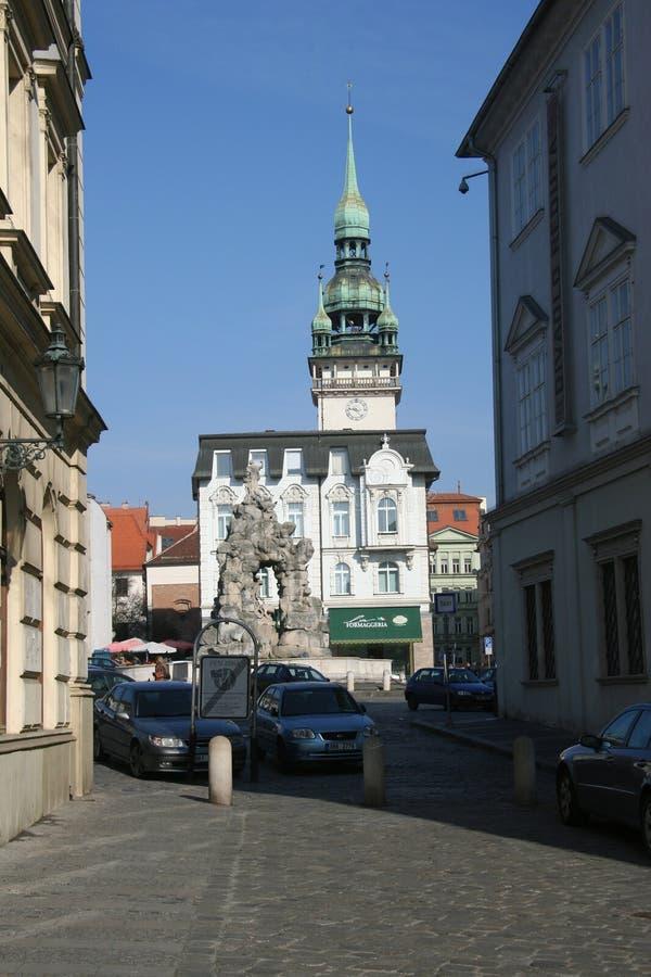 , Cuadrado del trh de Zelny de la calle secundaria imágenes de archivo libres de regalías