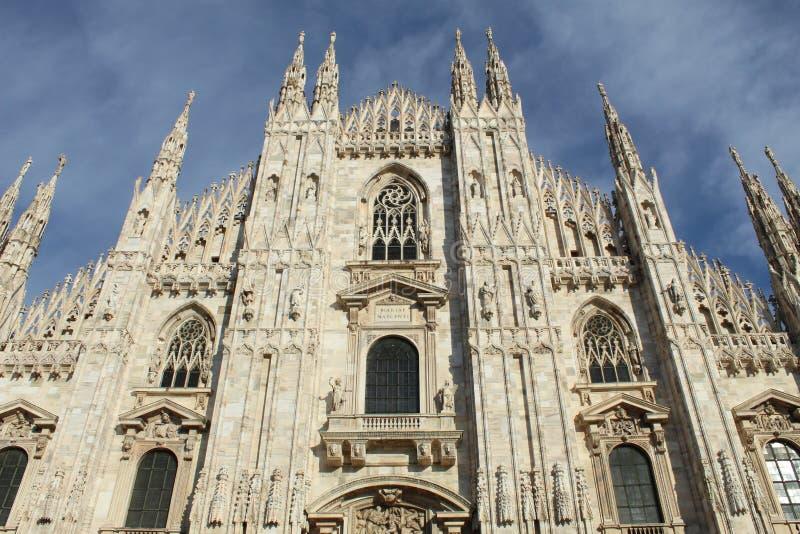 Cuadrado Dom Milano City fotografía de archivo