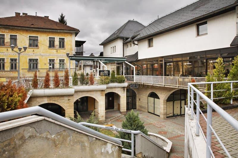 Cuadrado en Jajce Bosnia y Hercegovina foto de archivo