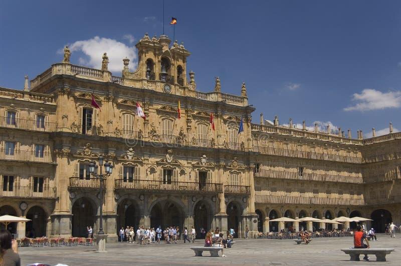 Cuadrado importante. Salamanca, España fotografía de archivo libre de regalías