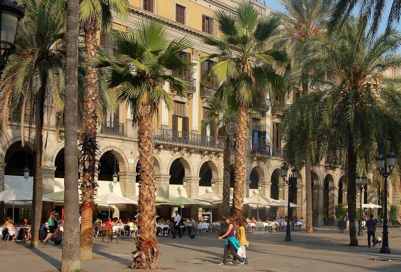 Cuadrado real - Barcelona fotografía de archivo libre de regalías