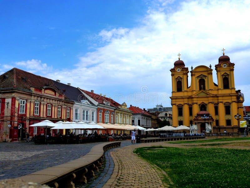 Cuadrado 02, Timisoara, Rumania de la unión fotos de archivo libres de regalías