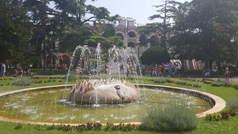 Cuadrado verde, Verona imágenes de archivo libres de regalías