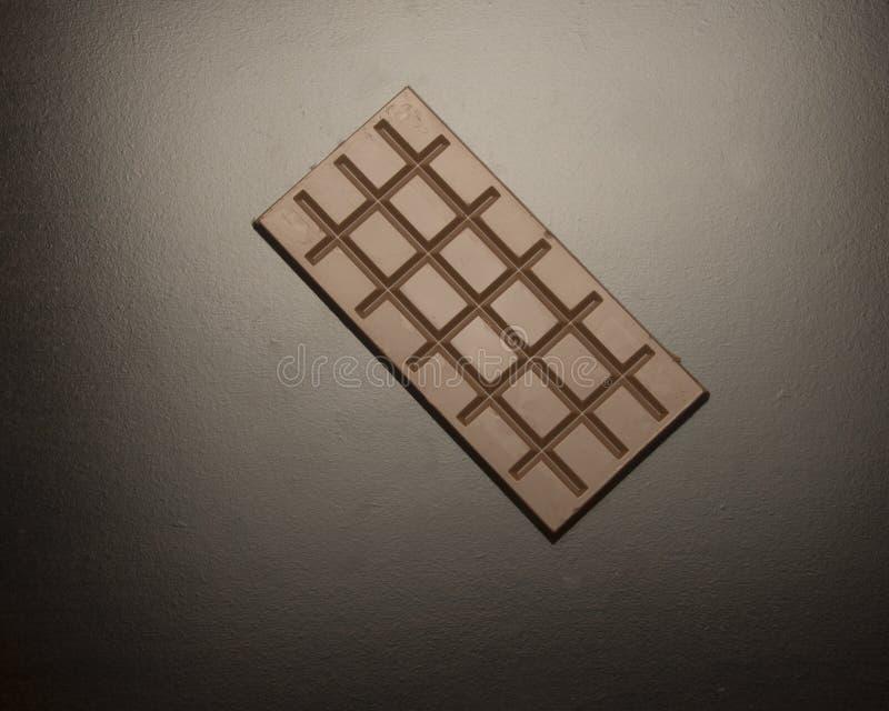 Cuadrados del chocolate imagen de archivo