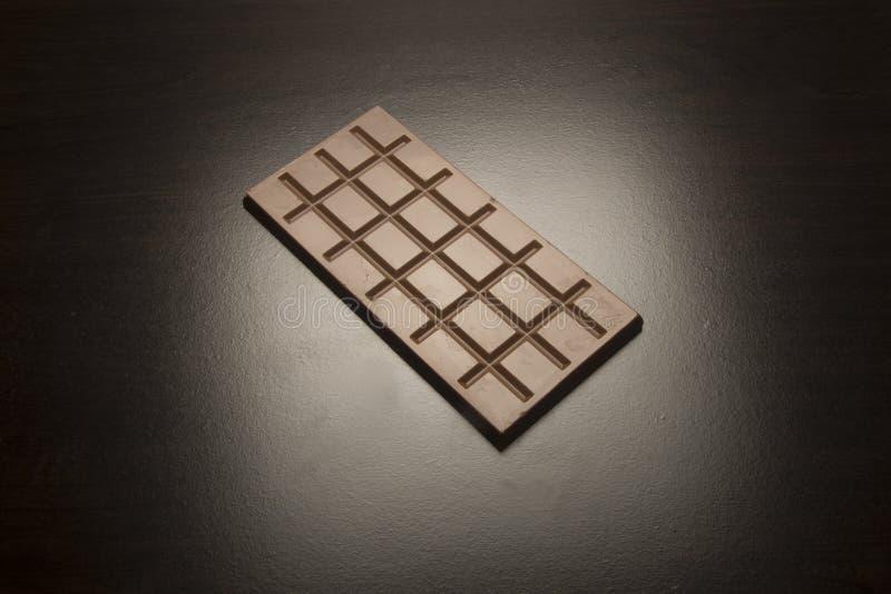 Cuadrados del chocolate imagen de archivo libre de regalías