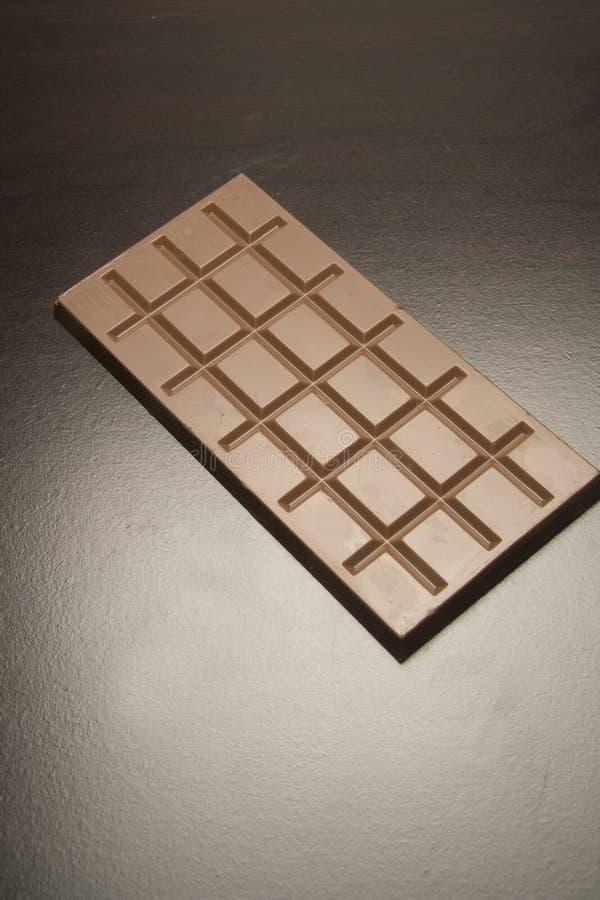 Cuadrados del chocolate fotografía de archivo libre de regalías