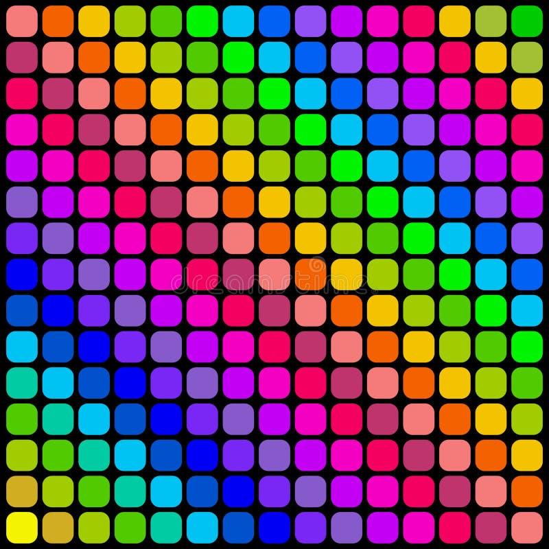 Cuadrados del color. stock de ilustración