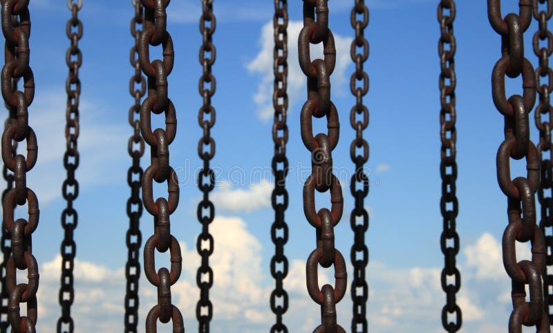 Cuadrilla de cadena 2 imagen de archivo libre de regalías