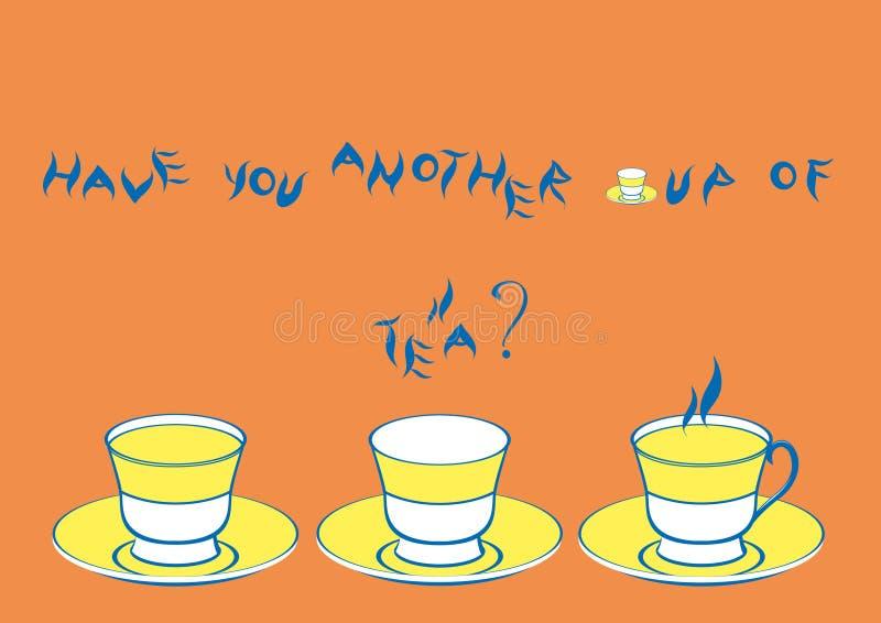 Cuadro con tres tazas libre illustration