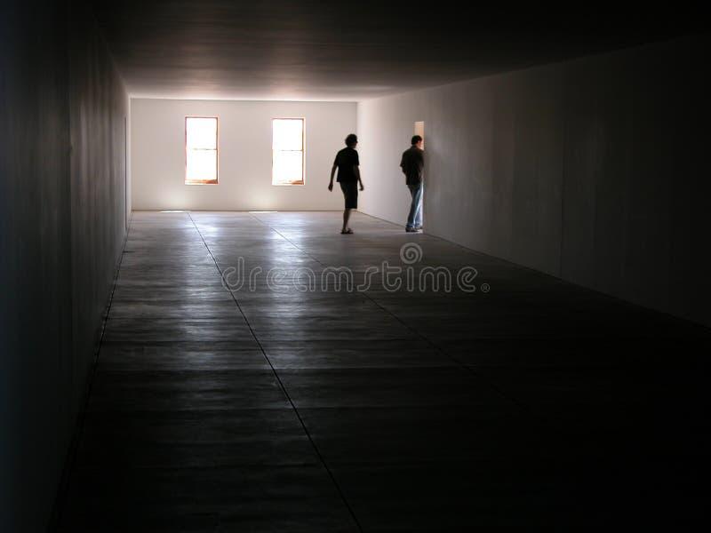 Cuadro del edificio interior fotos de archivo