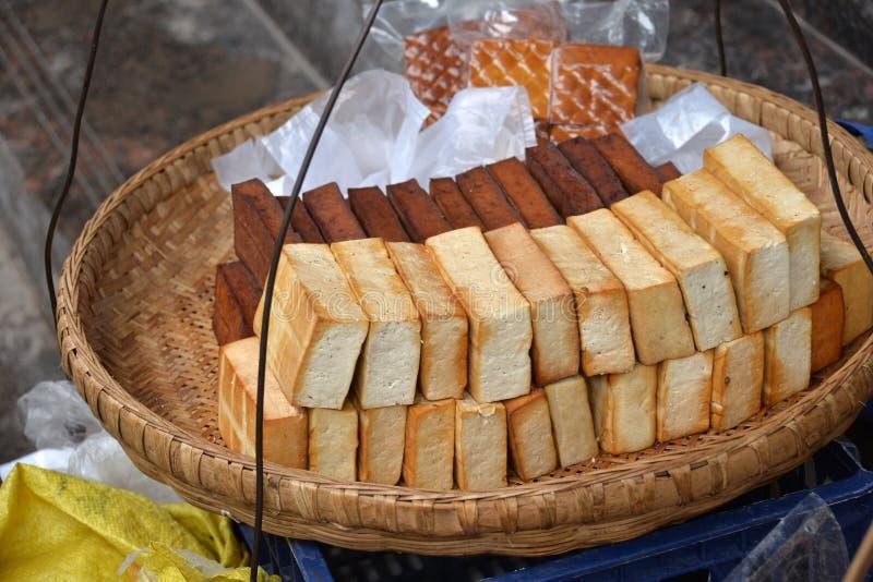 Cuajada de habichuelas frita, 'vegetariano del food〠imagen de archivo libre de regalías
