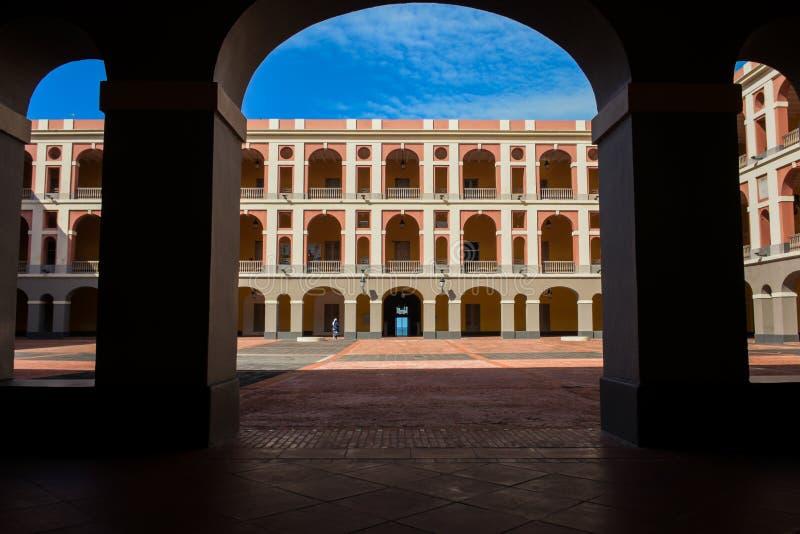 Cuartel de ballaja royalty free stock photography