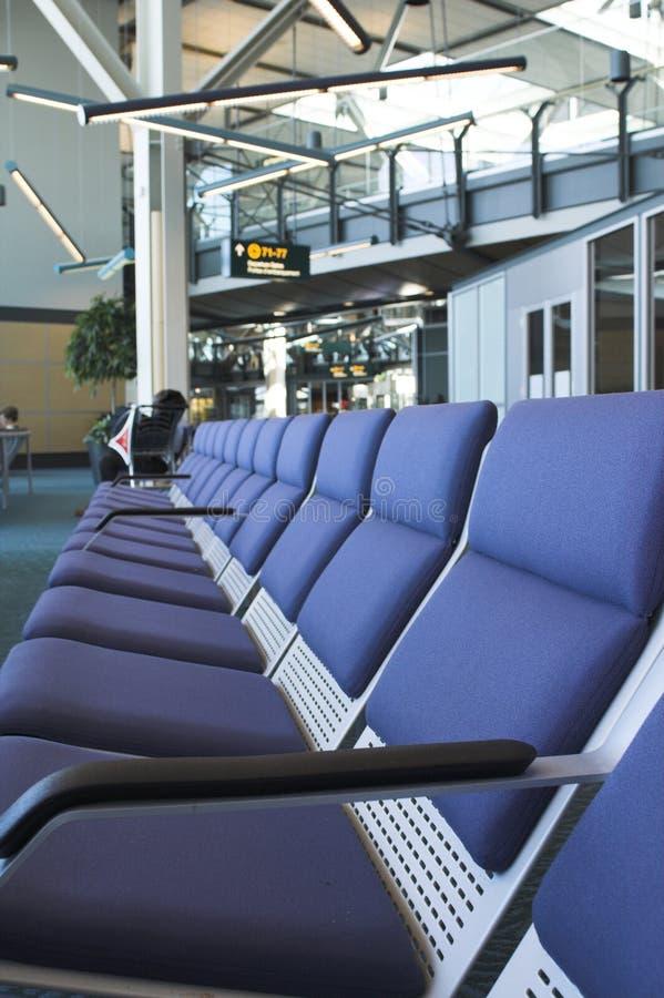 Cuarto-aeropuerto que espera fotografía de archivo