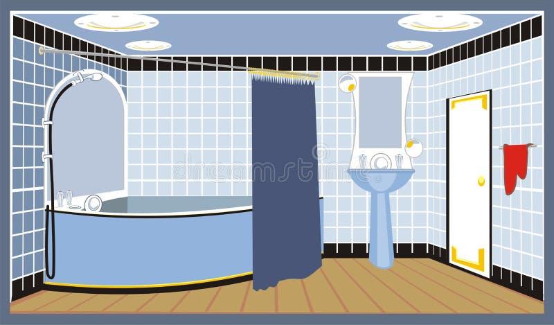 Cuarto de baño libre illustration