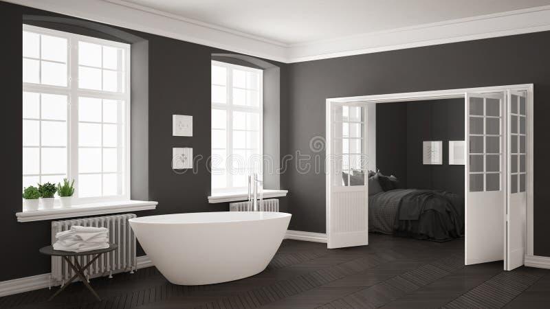 Cuartos de bao blanco y gris good blanco cuarto de bao for Cuarto gris con blanco