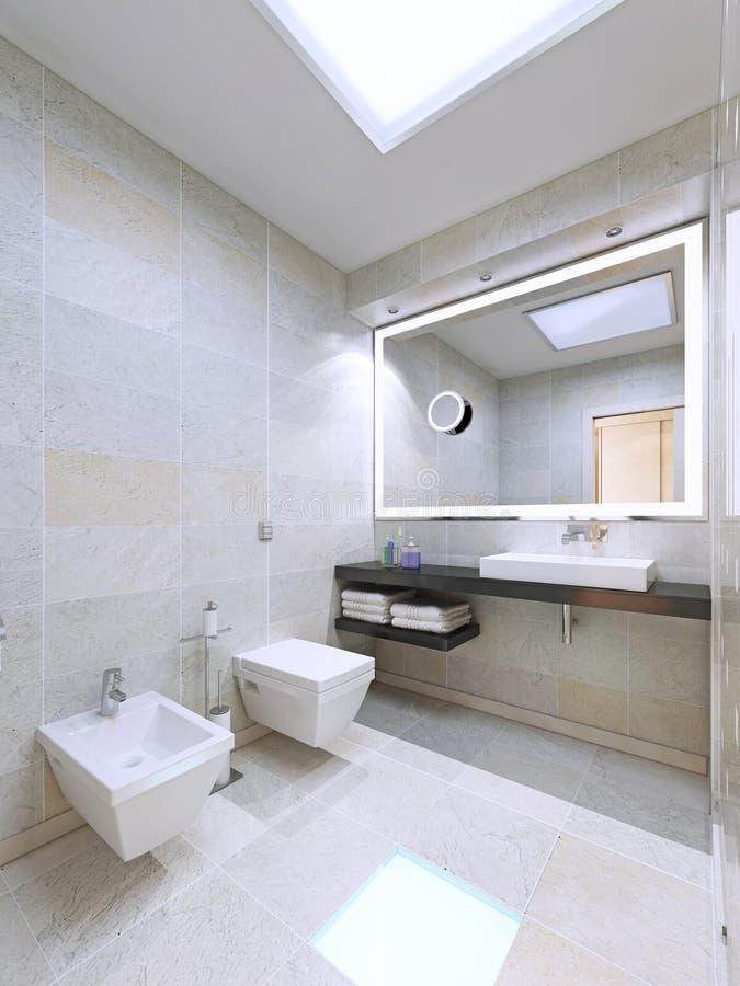 download cuarto de bao en diseo minimalista imagen de archivo imagen de consola apartamento - Diseo Minimalista