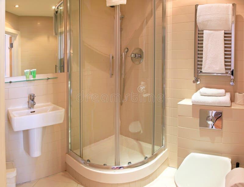 Cuarto de baño minimalistic foto de archivo