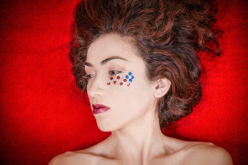 Cuarto de la mujer de julio imagen de archivo libre de regalías