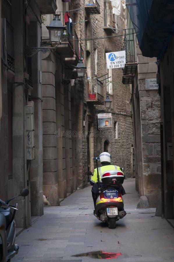 Cuarto gótico, Barcelona fotografía de archivo libre de regalías