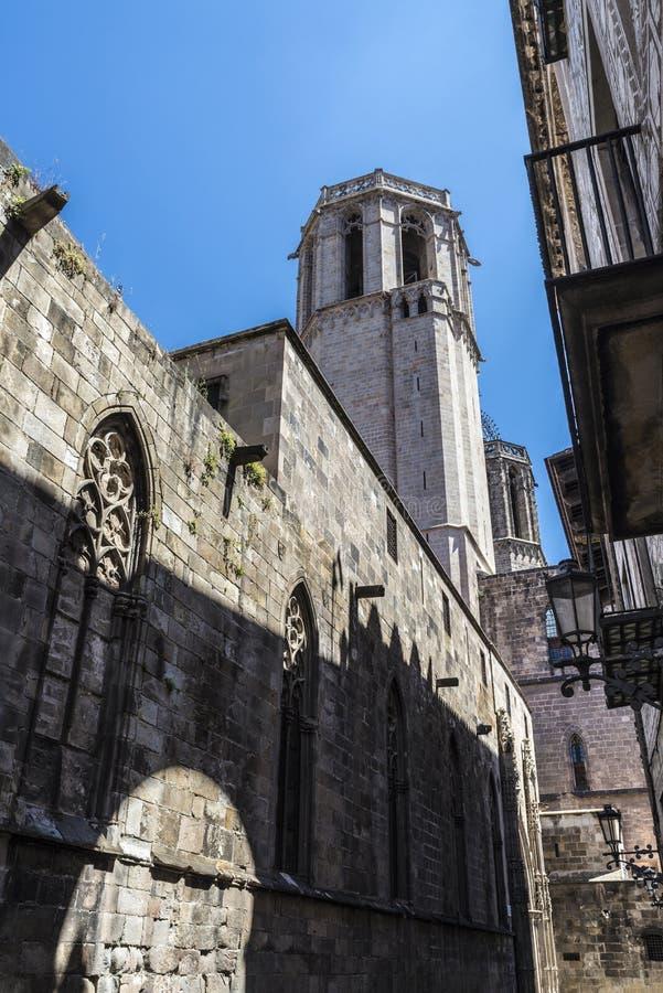 Cuarto gótico, Barcelona imágenes de archivo libres de regalías