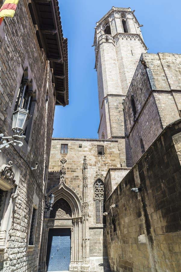 Cuarto gótico, Barcelona fotos de archivo libres de regalías