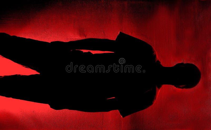 Cuarto Oscuro De Digitaces Imagen de archivo libre de regalías