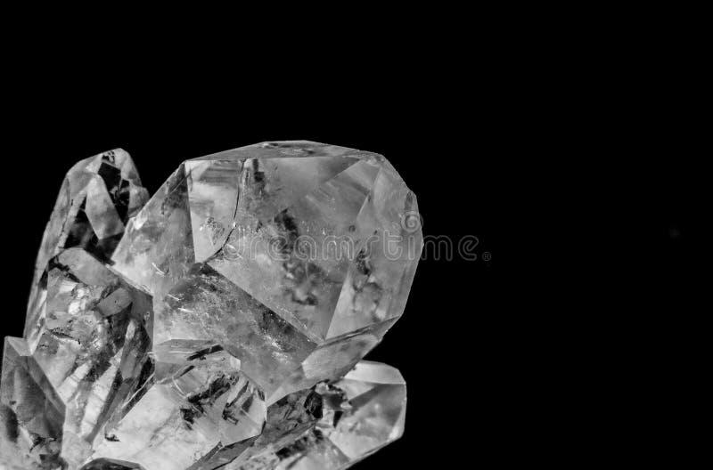 Cuartos de gal?n cristalinos con el lense macro imagen de archivo libre de regalías