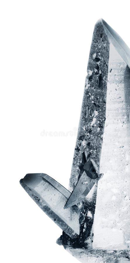 Cuarzo cristalino fotos de archivo