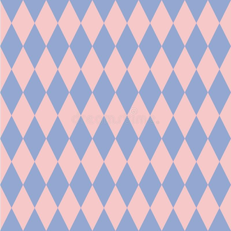 Cuarzo de Rose y contexto del Rhombus de la serenidad Ilustración del vector ilustración del vector