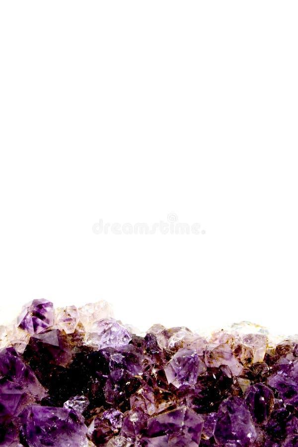 Cuarzo Púrpura Fotos de archivo