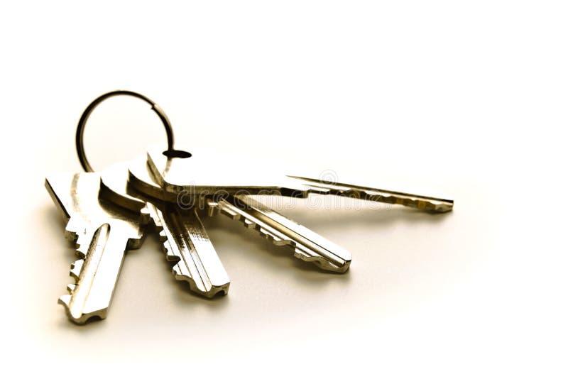 Cuatro claves imagen de archivo libre de regalías