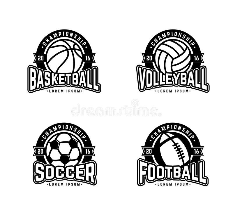 Cuatro deportes libre illustration