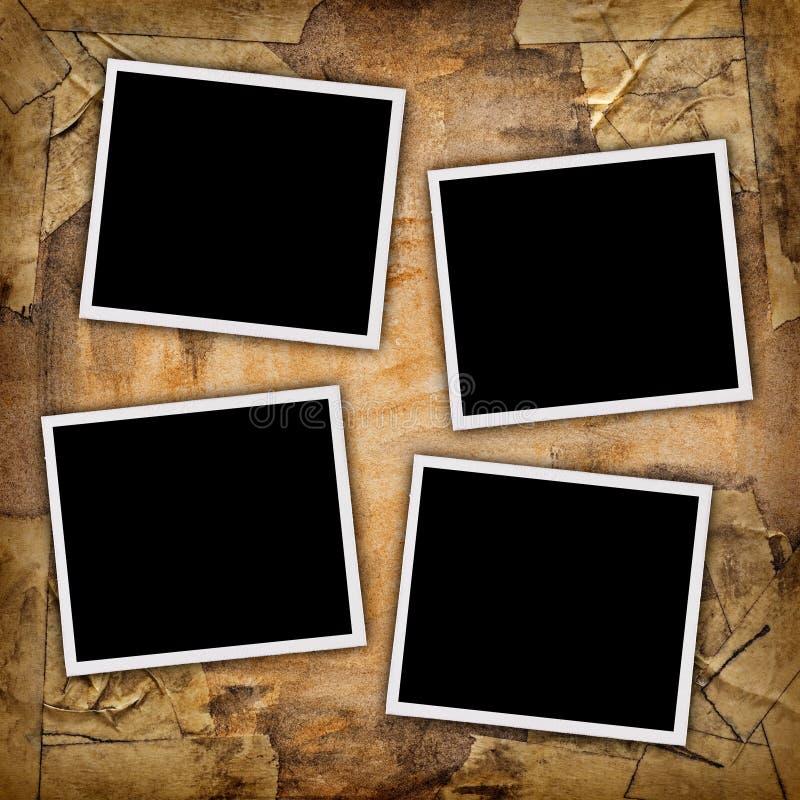 Cuatro fotos fotografía de archivo