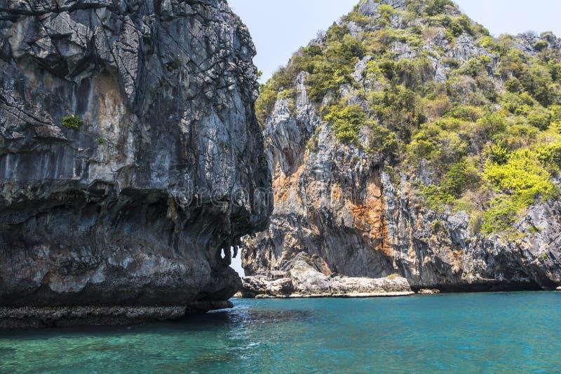Cuatro islas Koh Lanta foto de archivo libre de regalías