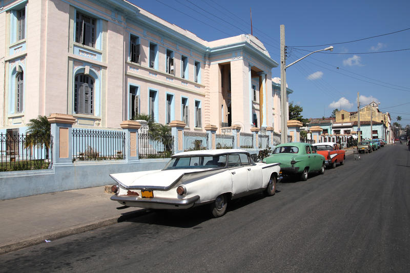 Download Cuba stock photo. Image of building, asphalt, urban, vintage - 19688036