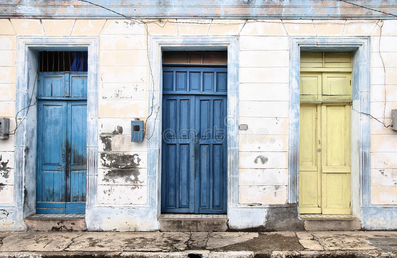 Download Cuba stock photo. Image of window, city, street, architecture - 25227420