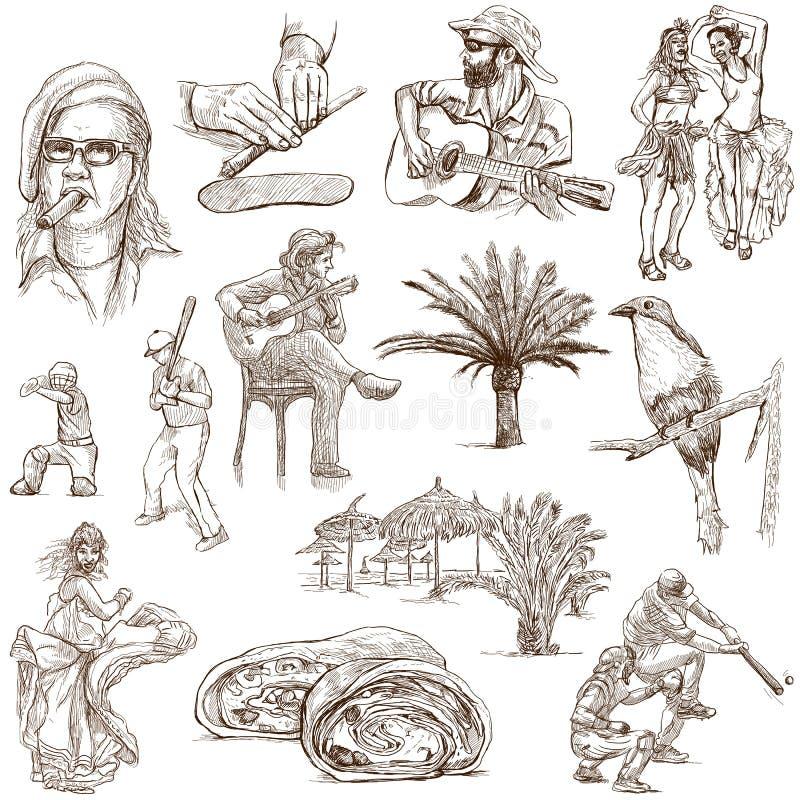 Cuba 1 stock de ilustración