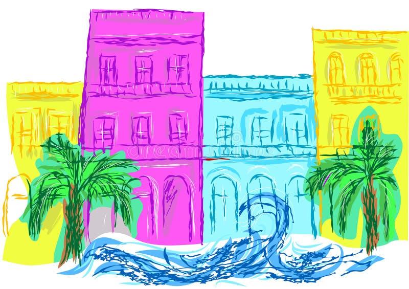 Cuba stock illustration