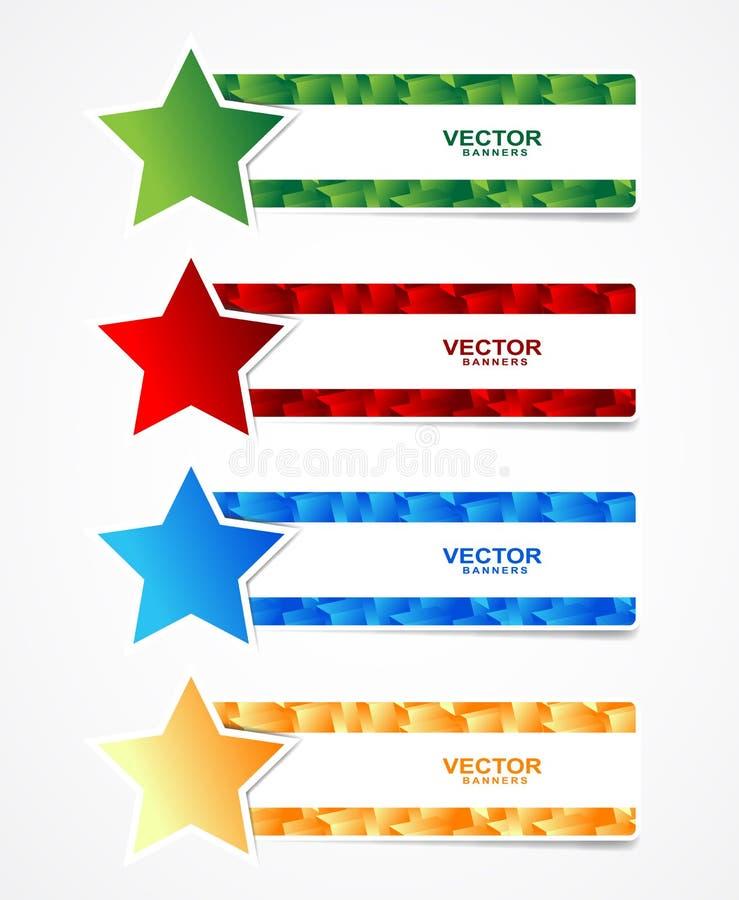 Cuba bandeiras ilustração royalty free